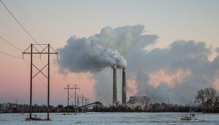 Xcel Energy's Sherburne County (Sherco) Generating Station near Becker, Minnesota.