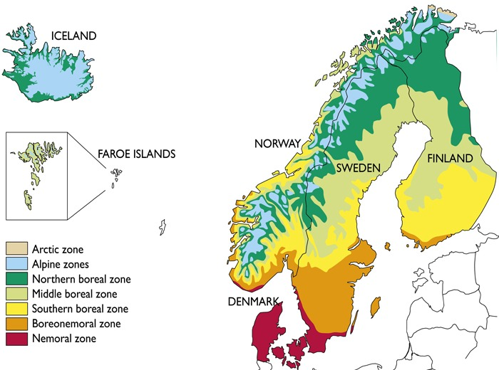Constructed Microclimates For The Windy Faroese Landscape FORESIGHT - Sweden climate zone map