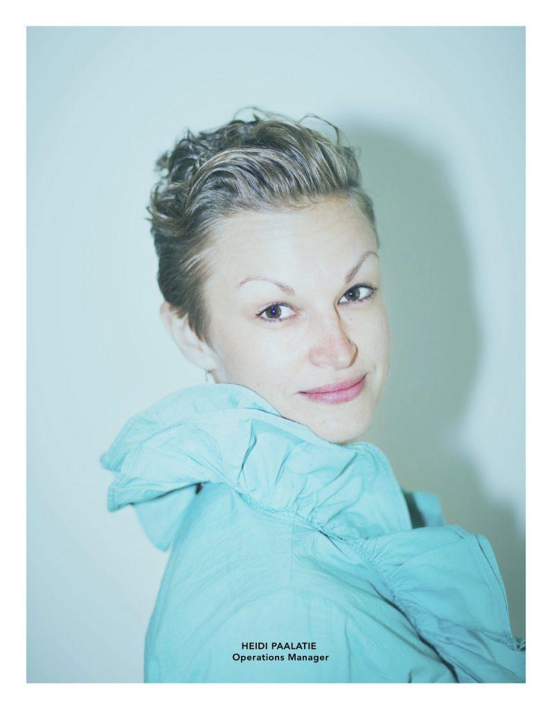 Heidi Paalatie, Operations Manager