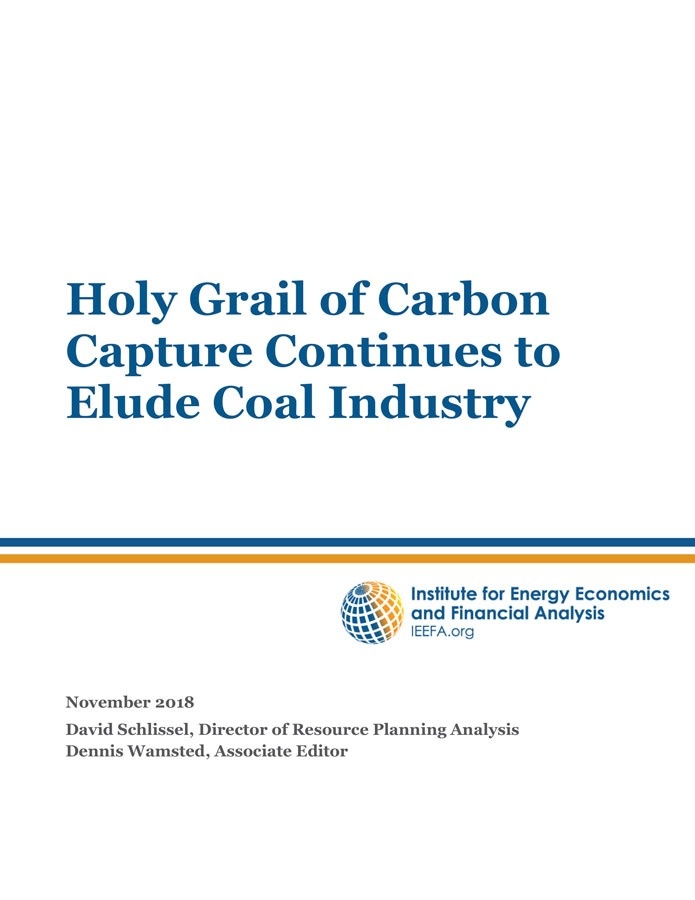 Carbon capture and storage no longer needed