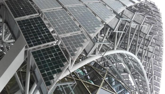 Solar skins for zero energy buildings