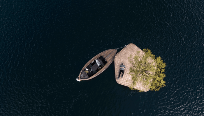 Architects in Copenhagen are creating islands to offer a new way for inhabitants and visitors to explore their connection to the city's coastal waters